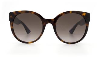 Gucci Gg0035s Havana Sunglasses
