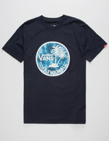 Vans Dual Palm Logo Mens T-Shirt
