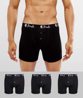 Pringle William Button Trunks In 3 Pack