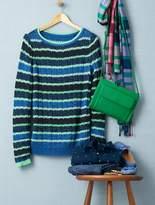 Talbots Mixed-Stripe Sweater