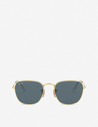 Ray-Ban RB3857 Frank Legend metal and acetate square sunglasses