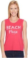 Life is Good Beach Please Muscle Tee Women's Sleeveless