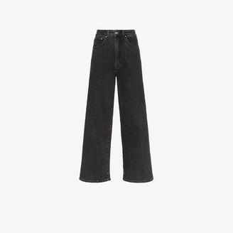 Totême Crop Flared Jeans