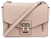 Proenza Schouler Hava Leather Shoulder Bag, Sand