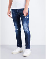 Dsquared2 Faded Slim-fit Tapered Jeans