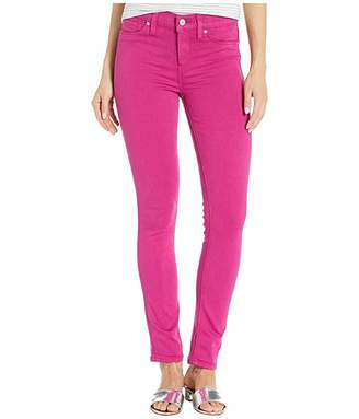 Hudson Jeans Nico Mid-Rise Ankle Skinny Jeans in Magenta (Magenta) Women's Jeans