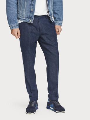 Scotch & Soda Stuart - Wool Blend Trousers Regular slim fit | Men