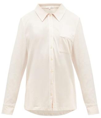 Skin Paulina Pima-cotton Pyjamas - Pink White