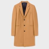 Paul Smith Men's Camel Wool-Cashmere Overcoat