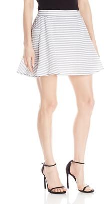 BCBGeneration Women's Cargo A-Line Skirt