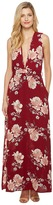 Brigitte Bailey Mira Sleeveless Floral Maxi Dress Women's Dress
