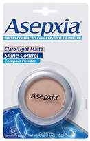 Asepxia Shine Control Compact Powder, Light Matte, 0.35 oz by Asepxia