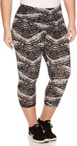 Spalding Cotton Blend Workout Capris Plus