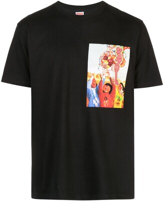 Supreme graphic print T-shirt