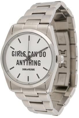 Zadig & Voltaire Girls Can Do Anything watch