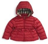Burberry Mini Janie Hooded Down Jacket (Baby Girls)