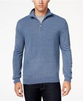 Weatherproof Vintage Men's Quarter-Zip Sweater, Classic Fit