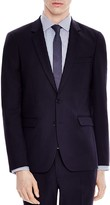 Sandro Notch Piqué Slim Fit Sport Coat