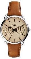 Fossil Abilene Rose Goldtone Stainless Steel Watch, CH3016