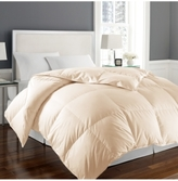 Blue Ridge 1000-Thread Count White Twin Goose Down Comforter