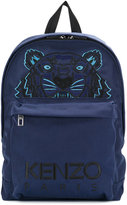 Kenzo tiger embroidered backpack - men - Polyester - One Size