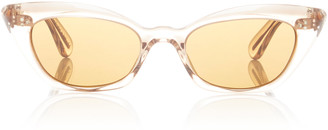 Oliver Peoples Bianka Acetate Cat-Eye Sunglasses