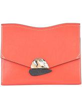 Proenza Schouler medium Curl clutch - women - Leather - One Size