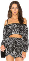 Alice McCall Anywhere Top in Black. - size Aus 10/US 6 (also in Aus 4/US 0,Aus 6/US 2)