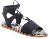 Lucky Brand Women's Sandals BLACK - Black Black Feray Suede Sandal - Women