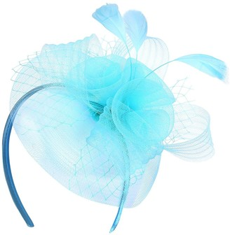Turquoise Fascinator Headband