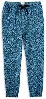 Ralph Lauren Girls' Geometric Print Knit Pants - Sizes 2-6X