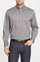 Nordstrom Men's Smartcare(TM) Traditional Fit Twill Boat Shirt