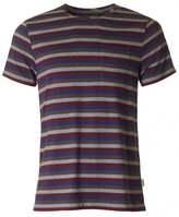 Oliver Spencer Olis Crew Neck Striped T-shirt