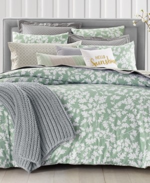 Charter Club Damask Designs Oak Leaf 2-Pc. Twin Comforter Set, Created for Macy's Bedding