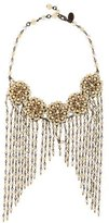 Erickson Beamon Bead Fringe Collar Necklace