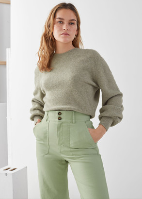 And other stories Cropped Sweater