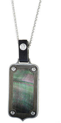 Stephen Webster Silver & Rhodium 3.3 Ct. Tw. Mother-Of-Pearl Necklace