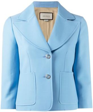 Gucci Cropped Blazer Jacket