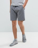 Farah Tarrant Sweat Shorts Drawstring In Mid Grey Marl