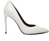 Saint Laurent Embossed Python Paris Skinny Heels