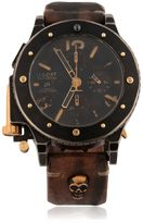 U-Boat U-42 Bk Chrono Gold Unic Watch