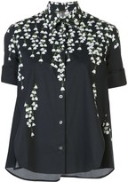 ADAM by Adam Lippes printed trapeze shirt