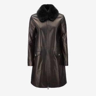 Bally Ladies Lamb Leather Coat