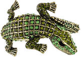 Kenneth Jay Lane Crystal Alligator Bracelet