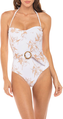 Revel Rey Kate Underwire Bandeau One-Piece Swimsuit