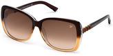 Swarovski Cleo Havana Crystal Sunglasses