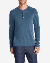 Eddie Bauer Men's Contour Long-Sleeve Henley Shirt