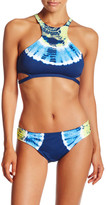Lucky Brand Half Moon High Neck Bikini Top