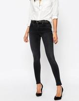 Asos 'SCULPT ME' Premium Jeans in Brooklyn Washed Black