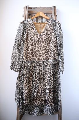 Swildens Van Leopard Print Dress - 36 - Brown